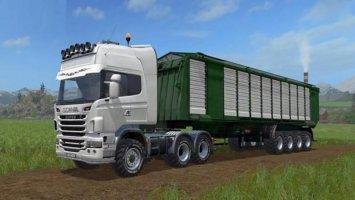 Scania R730 Agro Truck v1.02 Final FS17
