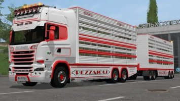Scania R730 Animal Transports v2.2 FS17