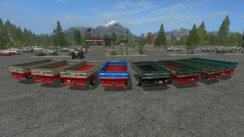 Universal 1axis tipper pack