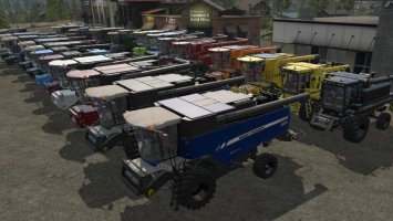 COMBINE AND CUTTER PACK BY STEVIE fs17