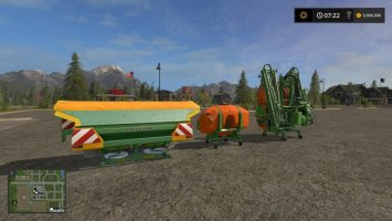 AMAZONE 1501 FULLY CONVERTED FS17