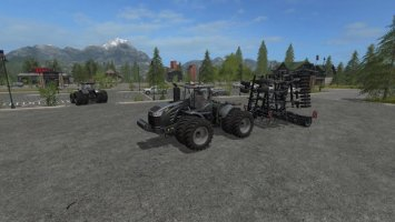 CHALLENGER MT900E & BLACK HORSCH TIGER 10 LT PLOUGH FS17