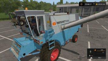 Fortschritt E516 green and blue FS17