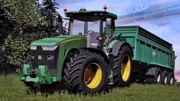 John Deere 8R New Pack FS17