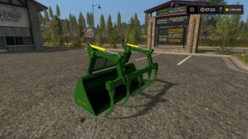 JOHN DEERE GRAPLE BUCKET fs17