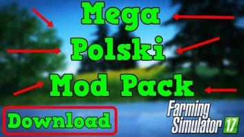 MEGA Polish Mod Pack FS17