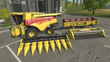 New Holland CR 7.90 120 Years pack FS17