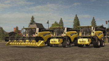 New Holland CR Pack - Tier 4A/B FS17