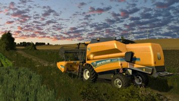 New Holland TC5 / TC5000 And Headers FS17