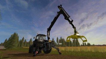 Ponsse Mounted Crane for Tractors v1.3 FS17