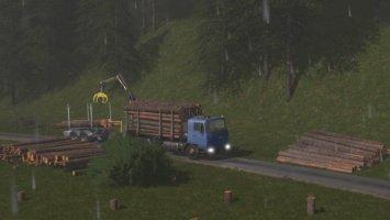 Tatra Terrno Log Truck