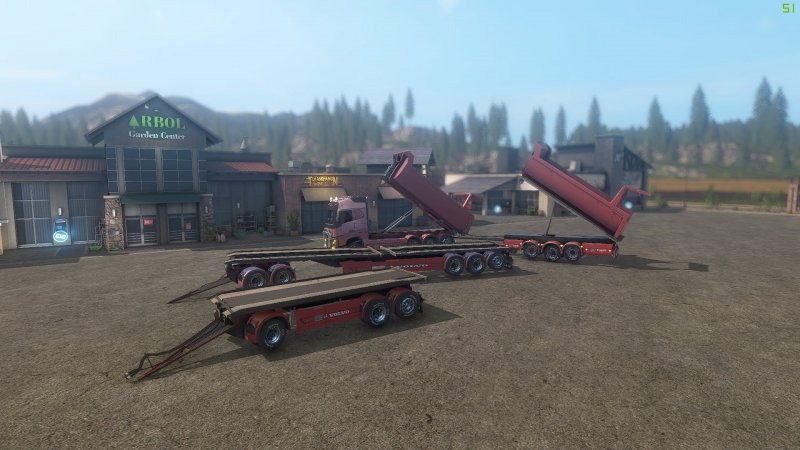 Volvo FH 750 ITC and ITC trailer REMOVED