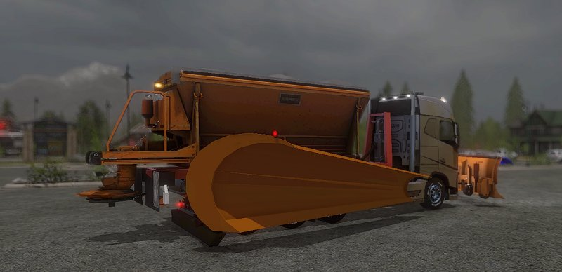 Volvo fh 750 itc snowready fs17 mod mod for for H portal