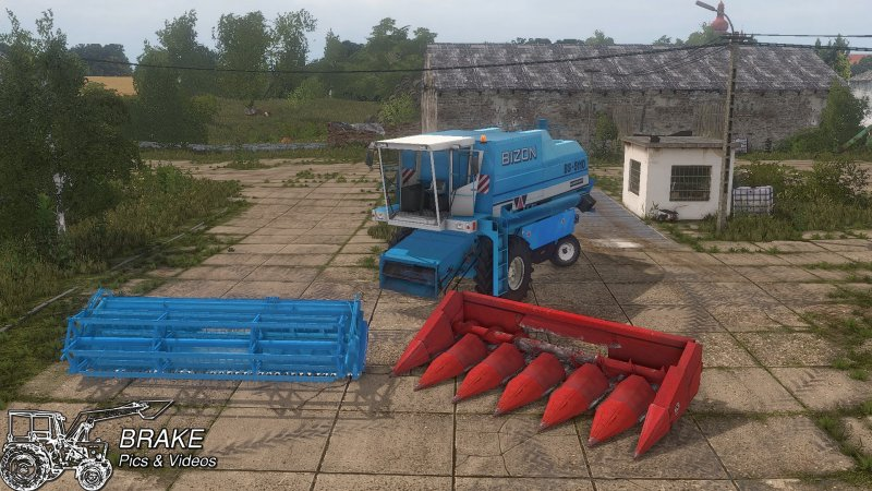 Bizon BS 5110 - FS17 Mod | Mod for Farming Simulator 17 | LS