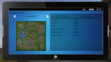 FarmingTablet - App: StorageOverview v1.1 FS17