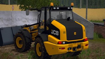 JCB TM320S with beacons and toplights FS17