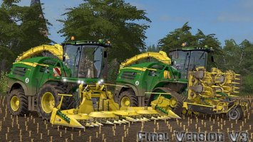 John Deere 8000 V3 Final Beast Pack fs17