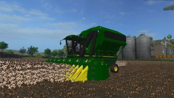 John Deere 9950 Cotton Harvester FS17