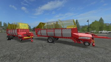Pöttinger EuroBoss 330T with twin tires v1.5 FS17
