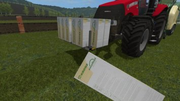 Selfmade Foil roles for the Krone Ultima FS17