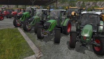 Tractors with Nokian tires configuration FS17
