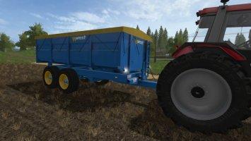 West 10t Grain Trailer v1.1.1 fs17