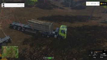 Wood Logs Weight ls15