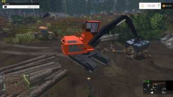 Wood Shovel Loader v1.0 ls15