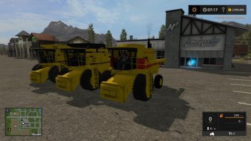 3 New Holland harvesters FS17