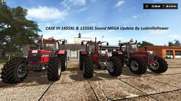Case IH 1455 XL and 1255 XL Sound Update By LudmillaPower