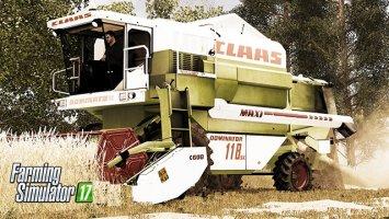 Claas Dominator 118 SL v1.1 FS17