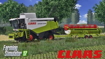 Claas Lexion 550 Full Pack FS17