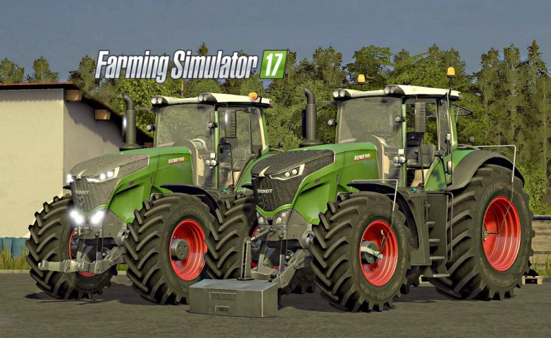 Fendt 1000 Vario Series V2 Full Edition FS17