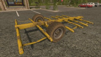 Home Made Bale Trailer FS17