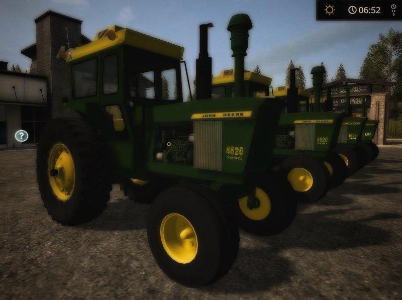 John Deere 20 series 2WD - FS17 Mod | Mod for Farming
