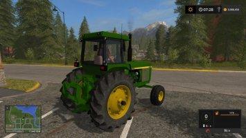 John Deere 30 series 2WD FS17