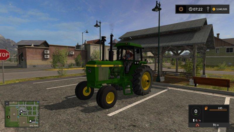 John Deere 4630 - FS17 Mod | Mod for Farming Simulator 17 | LS Portal