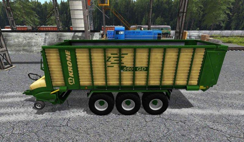 Krone zx550gd fs17 mod mod for landwirtschafts simulator 17 ls portal - Englisch krone ...