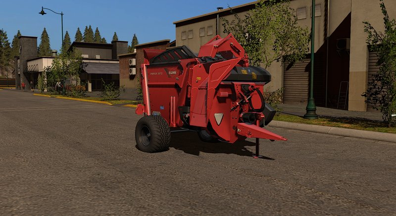 Kuhn Primor 3570 with DH and MouseControlled pipe FS17