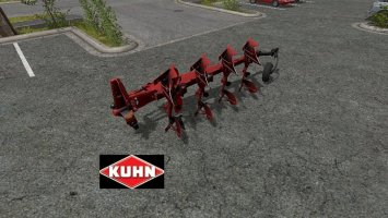 Kuhn Vari Master 153 front plough FS17