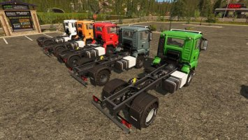 MAN Chassis Pack FS17