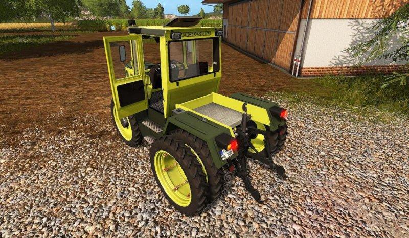 MB Trac 700-900 – DH v2 2 - FS17 Mod | Mod for Farming Simulator 17