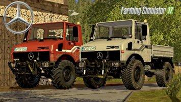 MB Unimog 1200/1600/2100 V3 Full Pack FS17