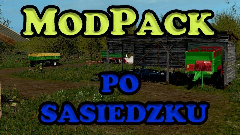 ModPack po sąsiedzku - FS17 Mod   Mod for Farming Simulator
