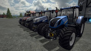 New Holland T7.315 FS17