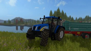 New Holland TL 100A v2.5 FS17