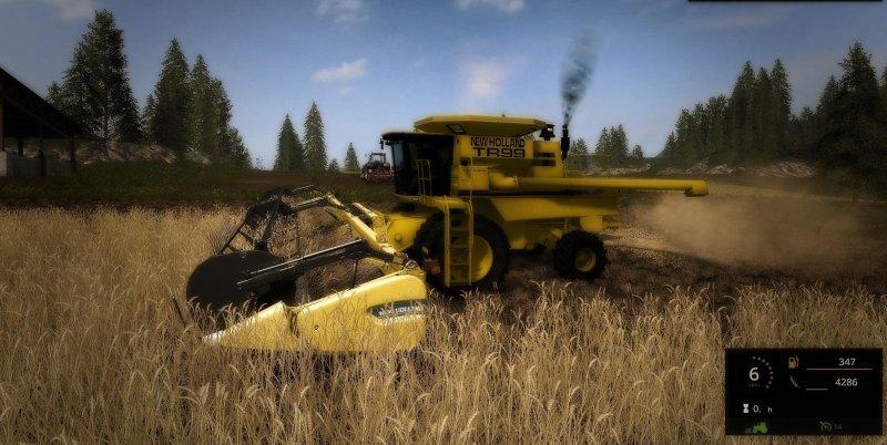 New Holland TR99 - FS17 Mod | Mod for Farming Simulator 17