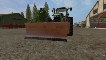 Rasco snow plow for seasonsmod FS17