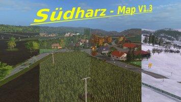 Südharz Map v1.3 FS17