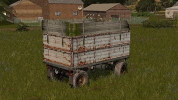 TRAILER ADAPTED FOR MAIZE FS17